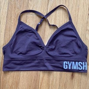 Gymshark Sports Bra Purple Size Large